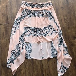 Zara High-low Skirt